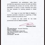 MMNL_Appreciated_By_Narendra_Modi_2011